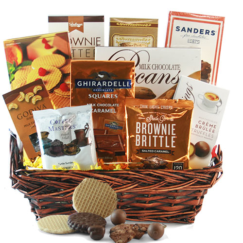 Sweet Salty Chocolate Gift Basket