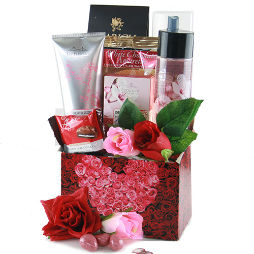 Sweetheart Valentines Day Gift Basket