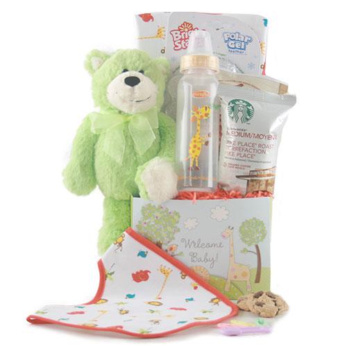 Sweet Pea Baby Gift Basket