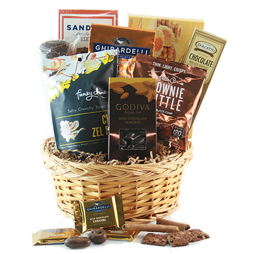 Sweet Surrender Chocolate Gift Basket