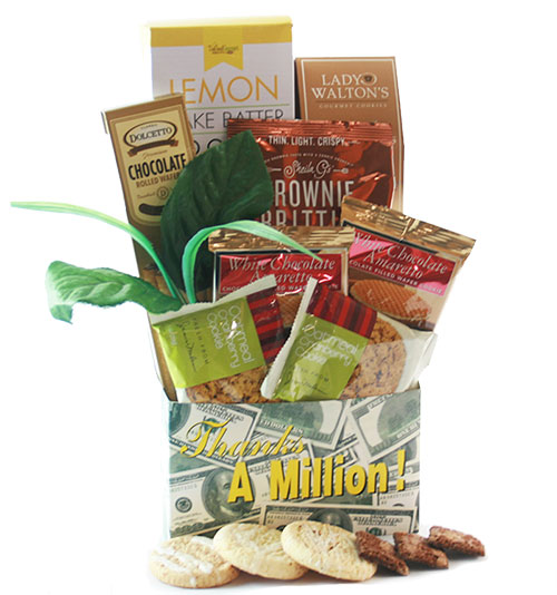 Sweet Thank You Gift Basket