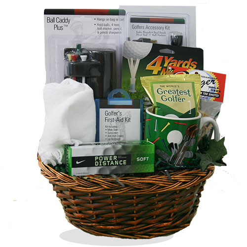In The Swing of Things Get Well Gift Basket