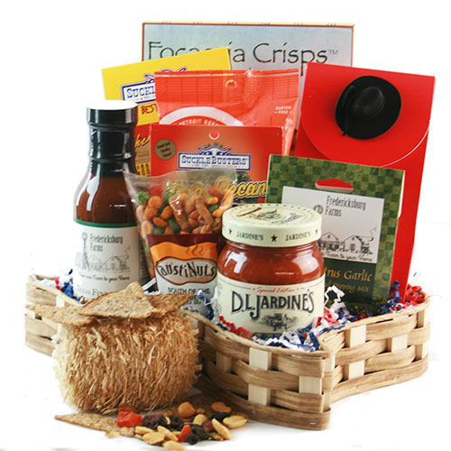 Tastes of Texas Texas Gift Basket