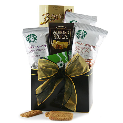 The Tastes of Starbucks Starbucks Gift Basket