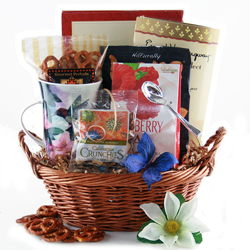 Tea for Mom Mothes Day Gift Basket