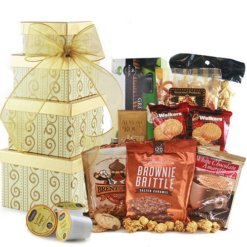 Tea Medley Tea Gift Basket