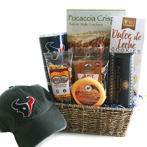 Houston Texans Fan Texans Gift Basket