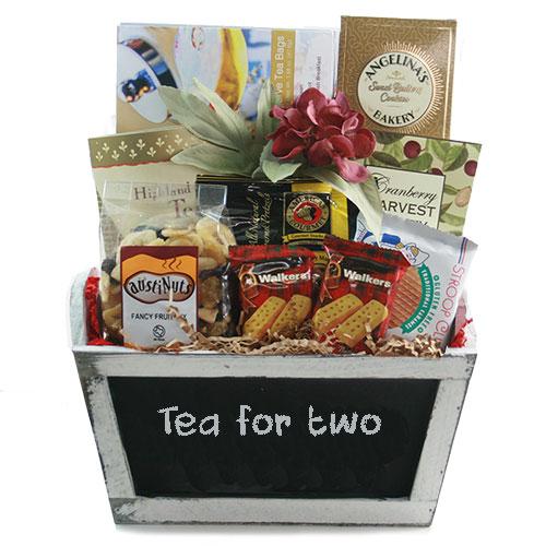 Tea For Two Tea Basket