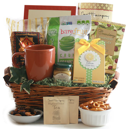 Tea Time Tea Gift Basket