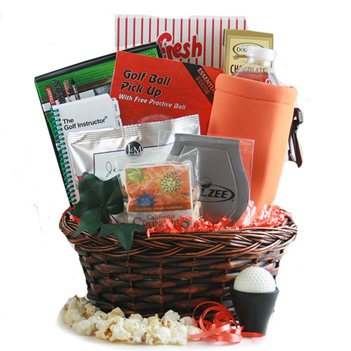 Tee Time Golf Gift Basket