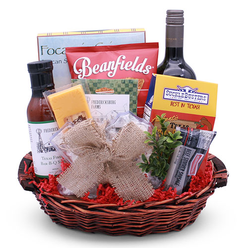 Texas Wine Country Gift Basket