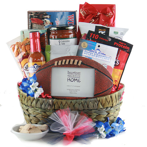 Texas Tailgate Texas Football Basket