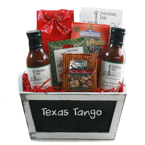 The Texas Tango Texas Gift Basket