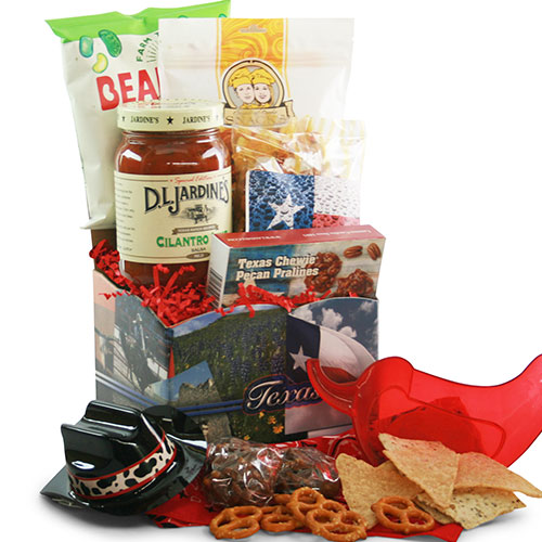 Texas Treats Texas Gift Basket