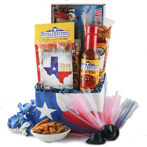 Texas Wrangler Texas Gift Basket