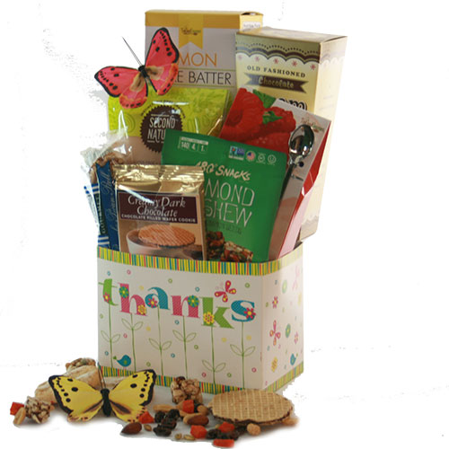 Thanks So Much Thank You Gift Basket