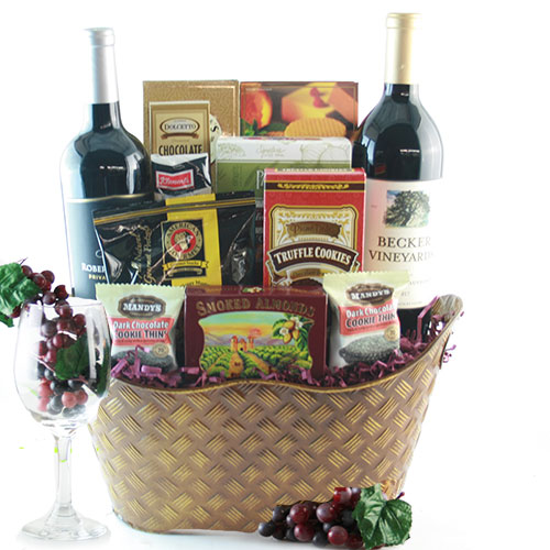 The Executive Wine Gift Basket  sc 1 st  Design It Yourself Gift Baskets & Corporate Gift Baskets: The Executive Wine Gift Basket | DIYGB