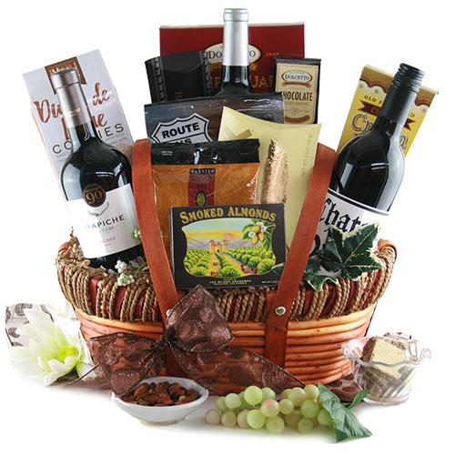 The Premier Wine Gift Basket