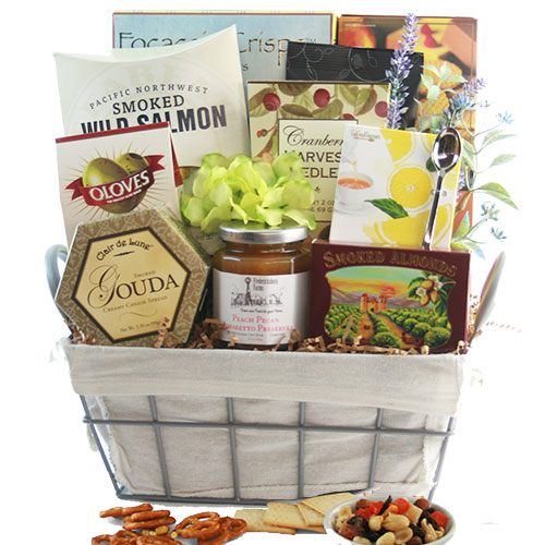 Sympathy Gift Baskets Thinking Of You Gourmet Gift Basket Diygb