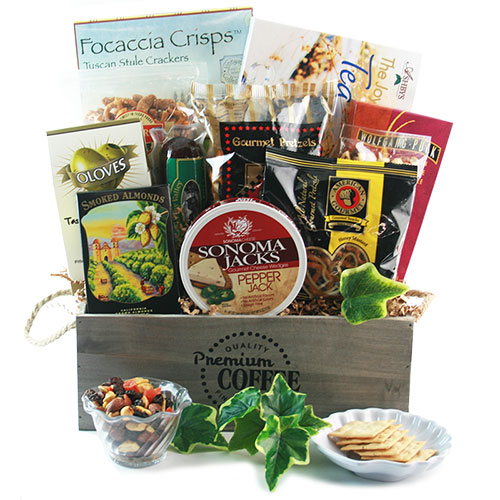 Thoughts Prayers Sympathy Gift Basket