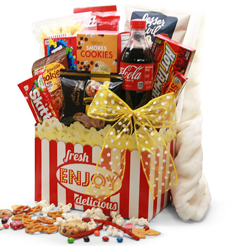 Thumbs Up Movie Gift Basket