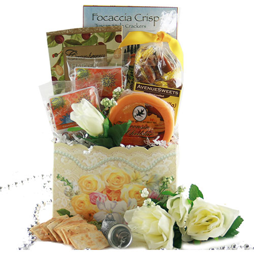 Tied the Knot Wedding Gift Basket
