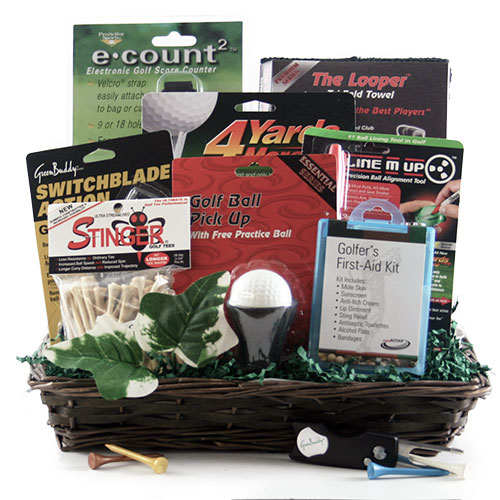Tin Cup Golf Gift Basket