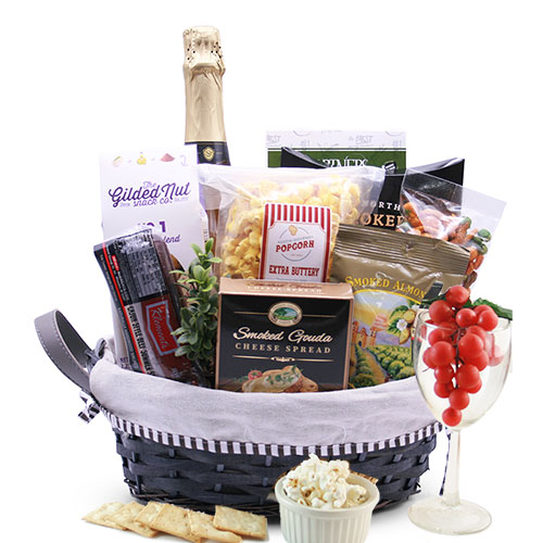 A Toast To You Wine Gift Basket