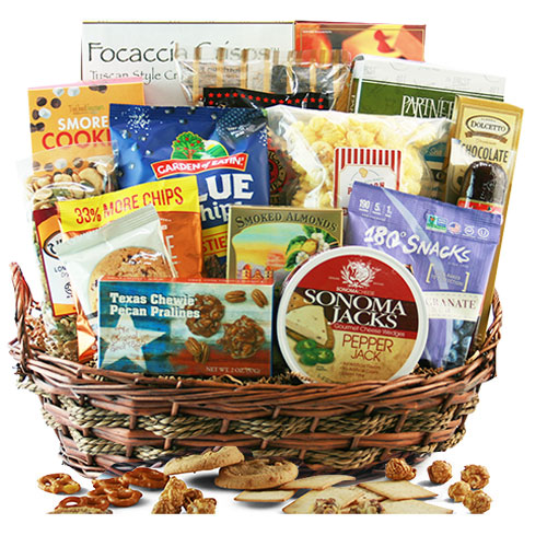 To Snack or Not to Snack Gourmet Gift Basket