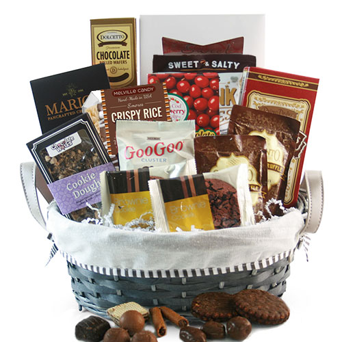 Totally Chocolate Chocolate Gift Basket