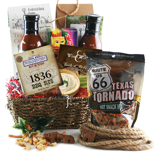 Totally Texas Texas Gift Basket