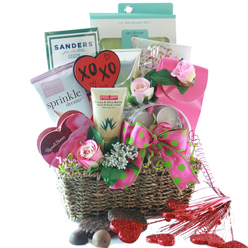 Totally Yours Valentines Gift Basket