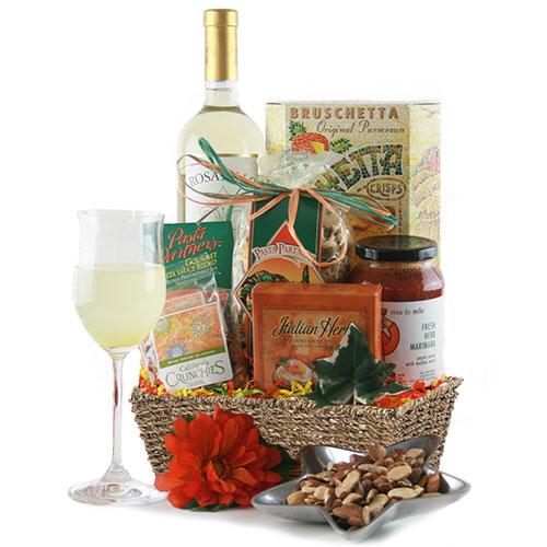 Trattoria Wine Gift Basket