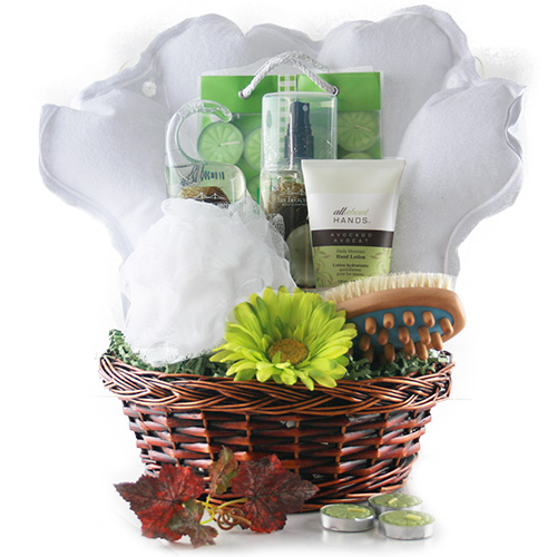 Treat Her Like a Lady Spa Gift Basket
