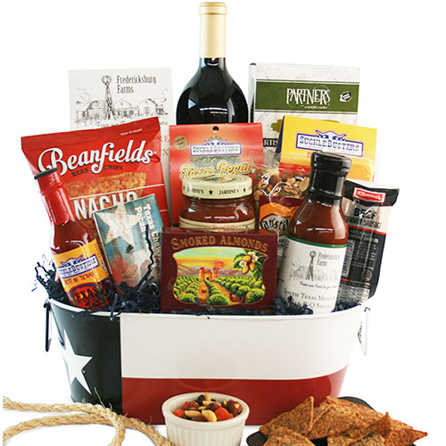 Texas Rodeo Time Texas Gift Basket
