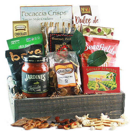 Ultimate Snacker Snack Gift Basket