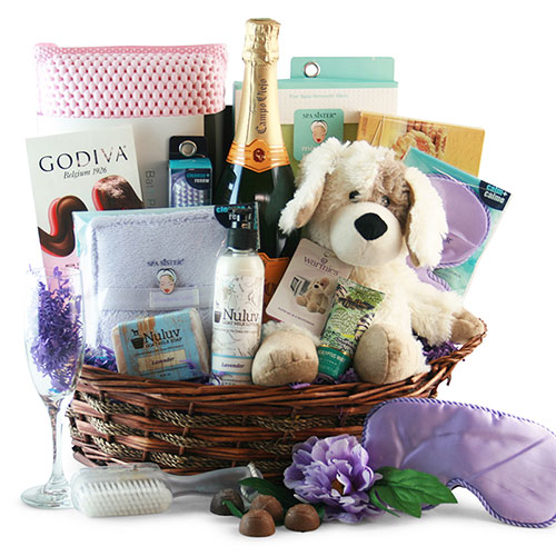 Ultimate Spa Gift Basket Spa Gift Basket
