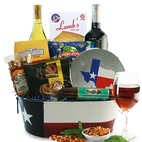 Ultimate Texas Wine Country Gift Basket OUT OF STOCK