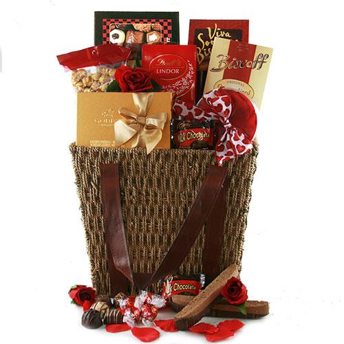 Valentines Day Chocolates Valentine Gift Basket
