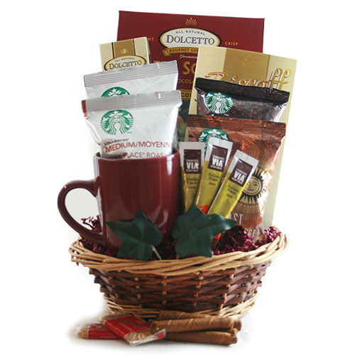 Via La Starbucks Starbucks Gift Basket