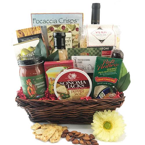 Viva Italia Italian Gift Basket