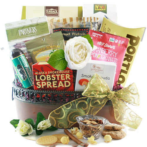 The Wedding Gift Basket Gourmet Wedding Gift Basket