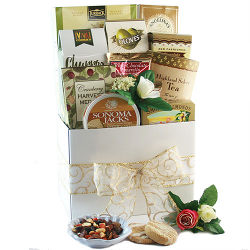 Wedding Gift Basket Bliss Wedding Gift Basket