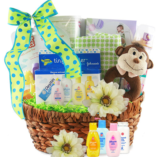 Welcome Baby Baby Gift Basket