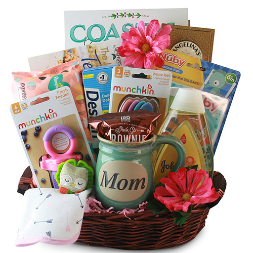 Make Yourself Gift Basket Ideas: Baby Gift Baskets: Oh What A Joy! Baby Gift Basket