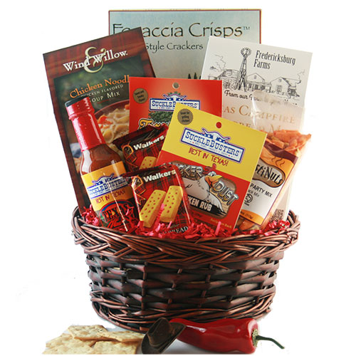 Wild West Texas Gift Basket
