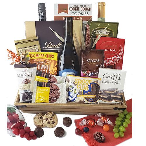 Wine Extravaganza Wine Gift Basket
