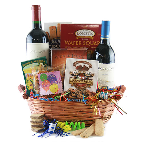 Wine Splendor Wine Gift Basket