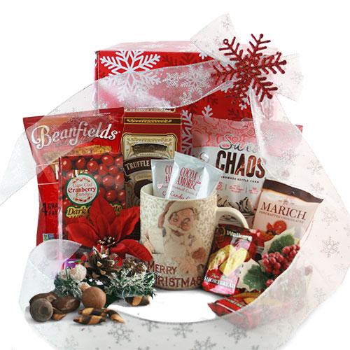 Winter Wonderland Christmas Basket