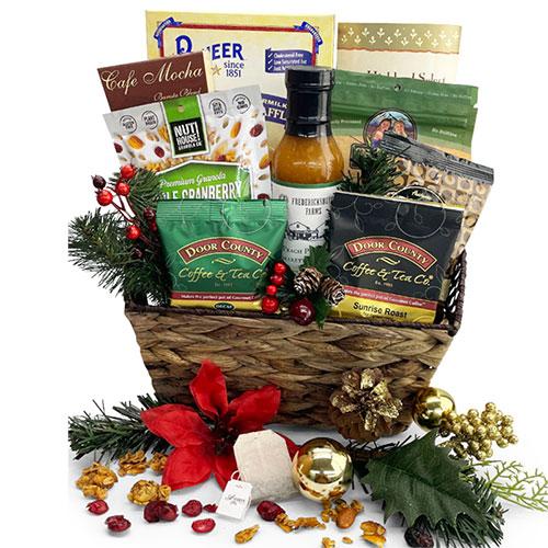 Christmas Morning Breakfast Basket